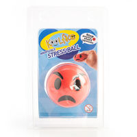Angry Face Stress Ball
