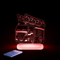 Aloka Sleepy Lights Fire Engine