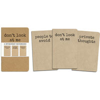 Introvert Notebooks Set of 3