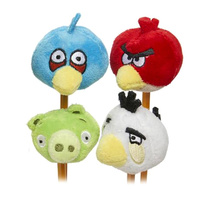 Angry Birds Fuzzy Feather Toppers