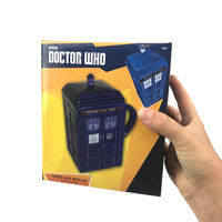 Doctor Who - Tardis Mug with Lid