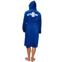 Doctor Who Tardis Fleece Robe with Hood