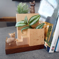 Garden Bookend Plant Container