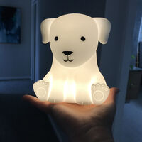 LED Touch Lamp Dog