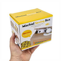 Little Cat Mischief Savings Box