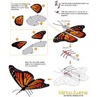 Metal Earth Monarch Butterfly