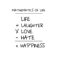 Mathematics of Life Print