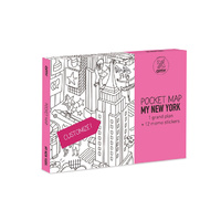 OMY Cities Pocket Map New York
