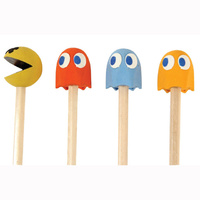 Pac Man Pencil Toppers