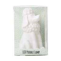 Poodle Colour Changing LED Lamp