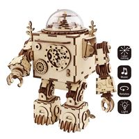 Robotime Steampunk DIY Music Box Orpheus