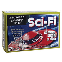 Sci-Fi Magnetic Poetry Kit