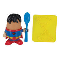 Superman Egg Cup and Toast Stamp