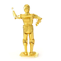 Star Wars Metal Earth Gold C-3PO