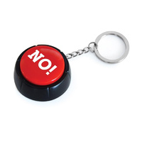 The No Button Keyring