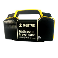 Tooletries Bathroom Travel Case Toolbox Yellow