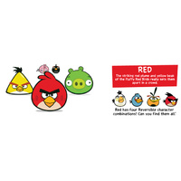 Angry Birds Reversibles - Red Bird