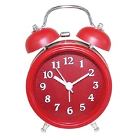 Light Up Alarm Clock Twin Bell