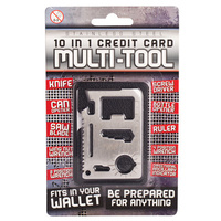 10 in 1 Credit Card Multitool