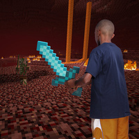Minecraft - Sword (Diamond Version)