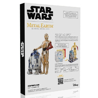 Star Wars Metal Earth R2-D2 and C-3PO Gift Box