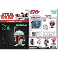 Star Wars Metal Earth Boba Fett Helmet