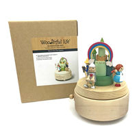 The Wizard of Oz Wooden Musical Box