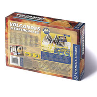 Volcanoes and Earthquakes Experiment Kit
