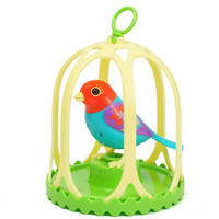 Digibirds with Cage