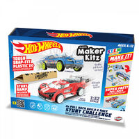 Hot Wheels Maker Kitz Stunt Challenge Twin Pack