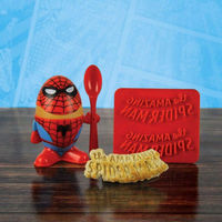 Marvel Spiderman Egg Cup and Toast Stamp