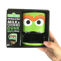 Oscar the Grouch Dunk Mug