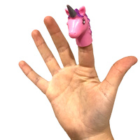 Unicorn Finger Puppet
