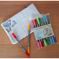 Colour and Learn Butterfly Pencil Case