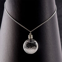 Storm Glass Necklace