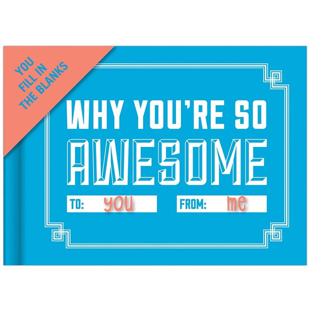 Awesome Journal - Why You're So Awesome