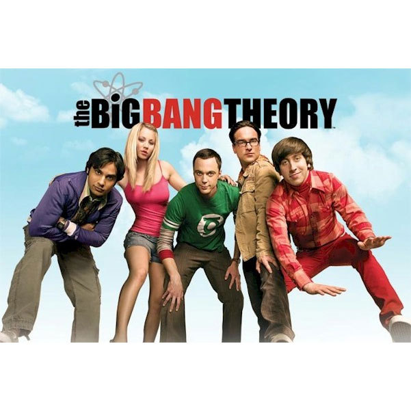Big Bang Theory - Cast Poster