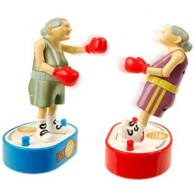 Boxing Grannies
