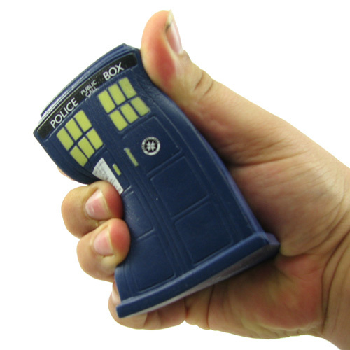 Doctor Who Tardis Stress Ball Squeezee