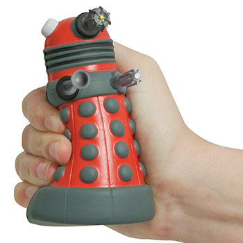 Doctor Who Dalek Stress Ball Squeezee
