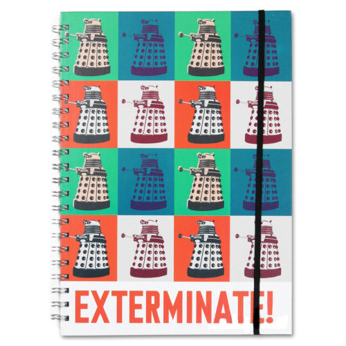 Doctor Who A4 Notebook