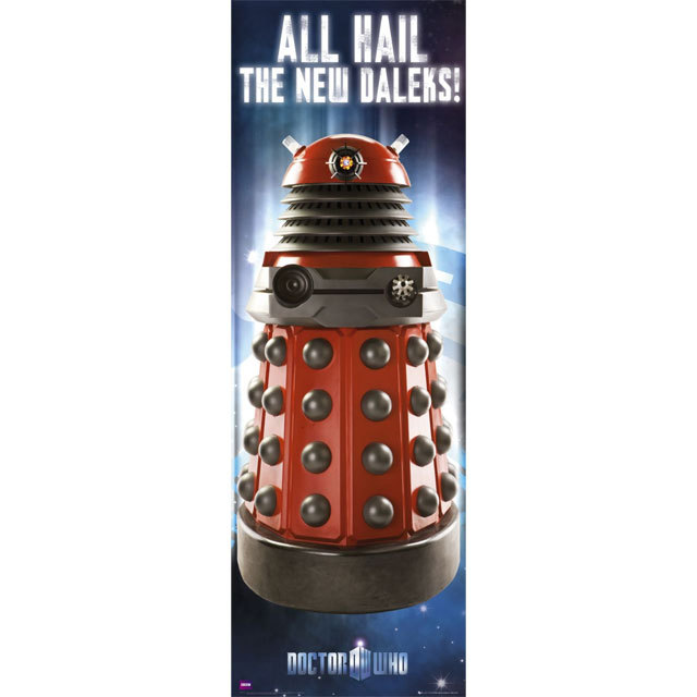 Doctor Who Dalek Door Poster