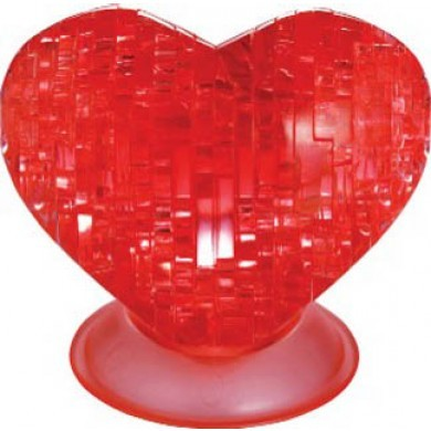 3D Heart Crystal Puzzle