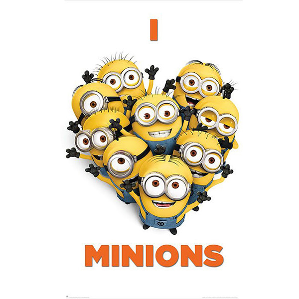 Despicable Me 2 I Love Minions Poster