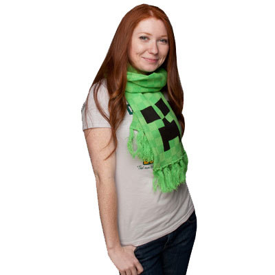 Minecraft - Creeper Scarf
