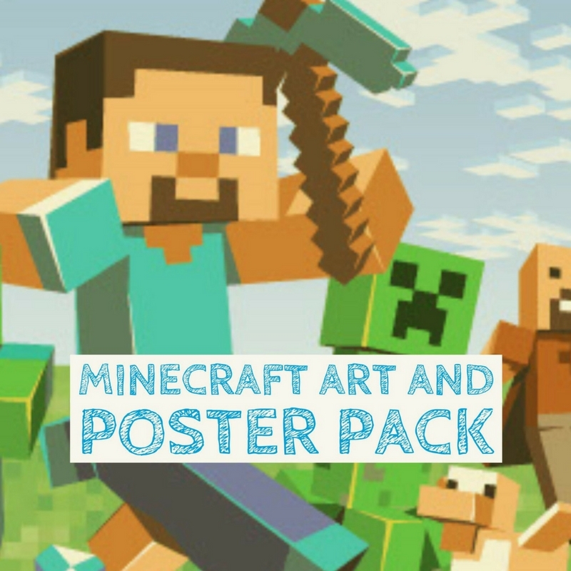 Minecraft Art and Poster Pack