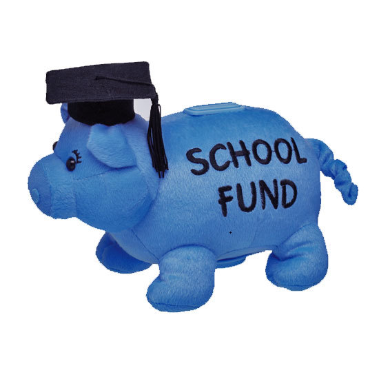 School Fund Piggy Bank Save For A Reason