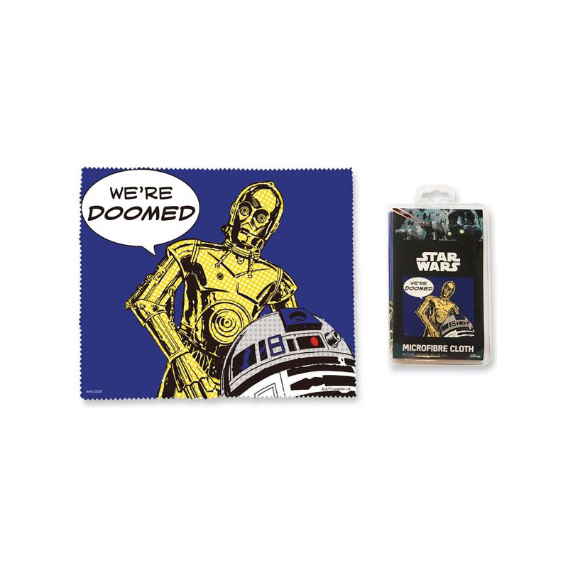 Star Wars We're Doomed Microfibre Cloth