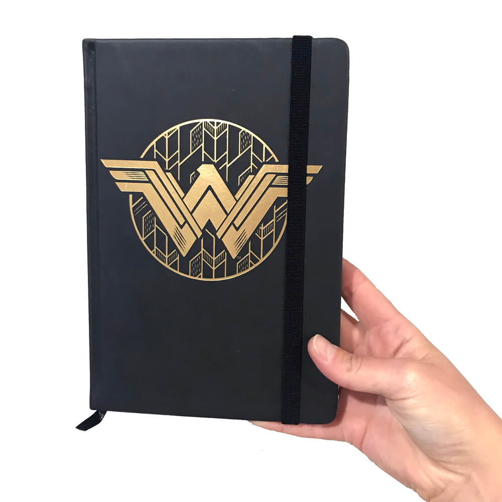 Wonder Woman Insignia Notebook