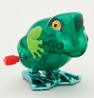 Z Wind Ups - Winky the Hopping Frog